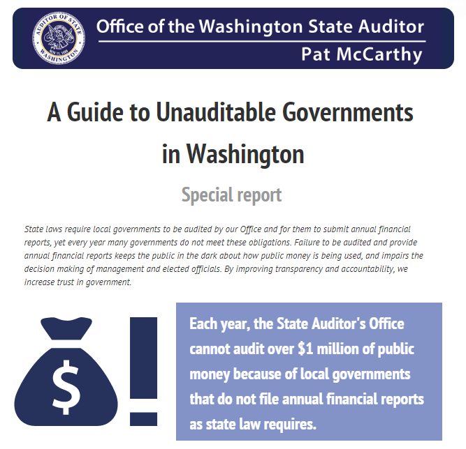 Home - Office of the Washington State Auditor