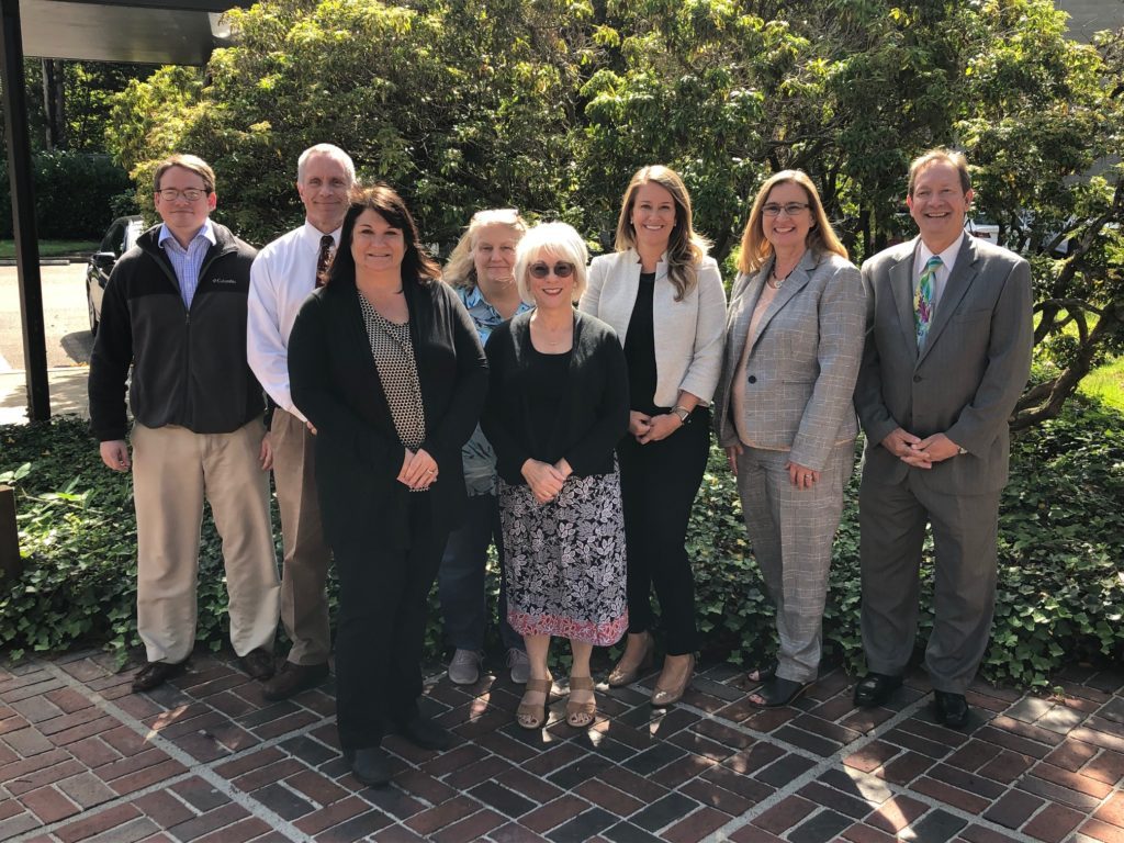 Members of 2019 peer review team from National State Auditors Association